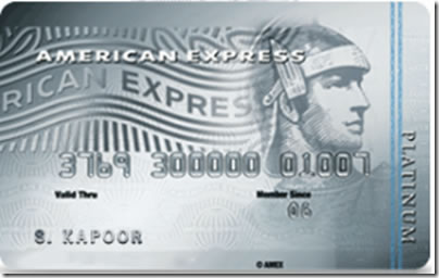 American Express Platinum Credit Card