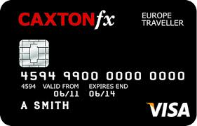 CaxtonFX Currency Card